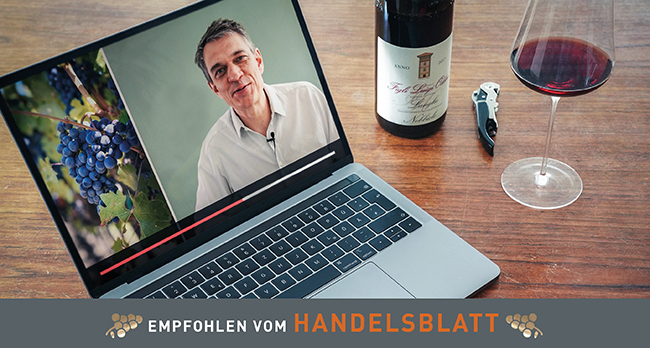 Online Weinprobe Event