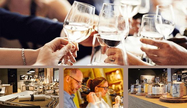 Geburtstagsfeier oder Weinseminar mit Freunden