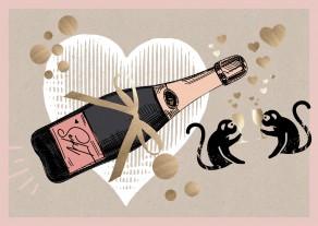 """Online Weinproben - Online Wine Tasting """"Valentins Special"""""""