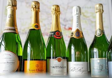 Champagner Seminar - Moët, Roederer, Taittinger & Co.