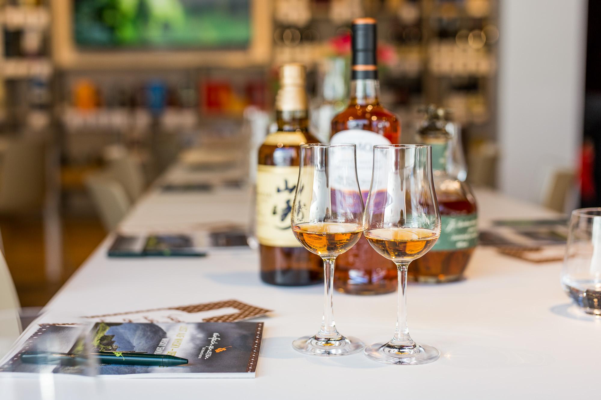 Whisky Seminar in München - einfach geniessen